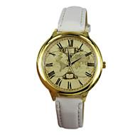 Women's Earth Style PU Band Quartz Analog Wrist Watch (Assorted Colors)