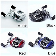 Left Handle 10+1 Ball Bearing 3 Colors Casting Reel