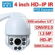 ONVIF2.0 Security CCTV High Speed IR HD IP PTZ Camera 960P 1.3MP IR-CUT 10X ZOOM