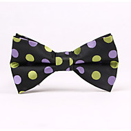 Wave Point Jacquard Bow Ties