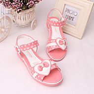 Girls' Shoes Dress/Casual Peep Toe/Comfort  Sandals Black/Pink