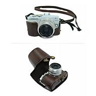 dengpin® destacável câmera capa de couro saco de caixa protetora com alça de ombro para Olympus E-PL7 (cores sortidas)