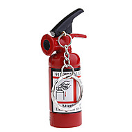 Mini Fire Extinguisher Style Butane Lighter With Keychain
