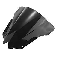 мотоцикл лобовое стекло ветер щит экран черный для Yamaha r6 08-09