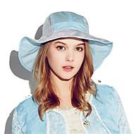Kenmont Summer Women UV Sun Large Brimmed Hat Outdoor Riding Wind-proof Hat Ladies Folding Sun Hat 3148