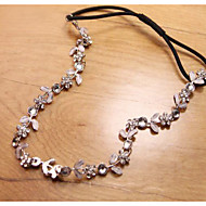 Women Flower Handmade Pearl/Crystal Tiaras/Headbands/Forehead Jewelry With Crystal/Pearl Wedding/Party Headpiece