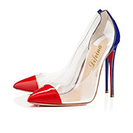 Women's Shoes Patent Leather Stiletto Heel Heels / Pointed Toe Heels Party & Evening / Dress / Casual