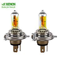 nye xencn h4 2300k 12v 85 / 80w p43t gyldne øjne xenon super gule lys halogen bil pærer forlygter