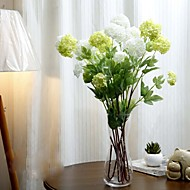 "34.3"" Artificial FLower 4 Heads Hydrangea Set of 1"