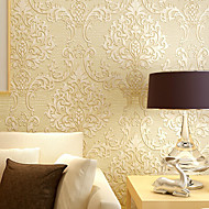 Art Deco Tapet til Hjemmet Klassisk Tapetsering , Ikke vævet papir Materiale selvklebende nødvendigTapet