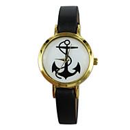 Women's Anchor Style PU Band Quartz Analog Wrist Watch (Assorted Colors)