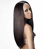 Custom(28 day) Human hair  lace wigs for  women Brazilian virgin hair Straight human hair color(#1 #1B #2 #4)