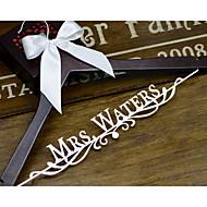 geschenken bruidsmeisjegift deluxe gepersonaliseerde trouwjurk hanger, douane bruids bruidsmeisje hanger