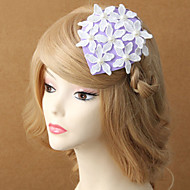 Women Fashion/Imitation Pearl/Cotton Flowers With Imitation Pearl Wedding/Party Headpiece