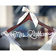 Gifts Bridesmaid Gift Deluxe Personalized Wedding Dress Hanger, Custom Bridal Bridesmaid Hanger