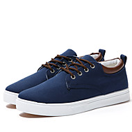 Men's Shoes Office & Career/Casual Canvas Fashion Sneakers Blue/Gray/Beige