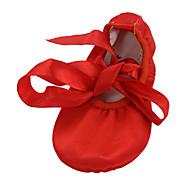 Sapatos de Dança ( Castanho/Vermelho ) - Mulheres - Não Personalizável - Ventre/Balé/Ioga/Ginástica