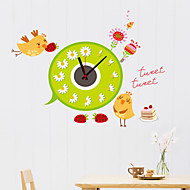 DIY 3D Cartoon Chicken Wall Clock