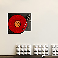 3d a decoração da música adesivos de parede adesivos de parede