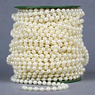 Ruban métallique/Ruban de strass/Noeud ( Blanc/Pourpre , Satin/Métallique/Gros-grain/Organza/Polyester/Strass/Jute ) - Non personnalisé