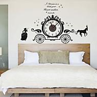 Moderne/Contemporain Personnages Inspiré Mariage Famille Amis Horloge murale,Nouveauté Plastique Autres Intérieur/Extérieur Horloge