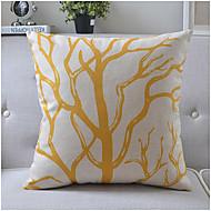 modern stil trädgren bomull / linne dekorativa kuddöverdrag