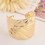 Women's Popular Leaf  Alloy Cuff With Bracelet