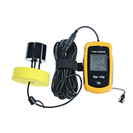 High Quality 100M LCD Sonar Sensor Fish Finder Alarm Transducer with Retail Packing