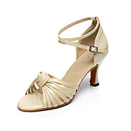 Latin Woman's Sandals Customized Heel With Buckie   Dance Shoes(More Colors)
