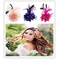 Women's Rose Flower Wedding Bridal Headpieces Fascinators