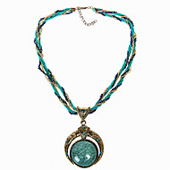 Women's Vintage Bohemian Resin Necklace Party/Causal