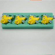 Clown Fish Shaped Fondant Cake Mould Chocolate Silicone Mold/Decoration Tools For Kitchen Baking