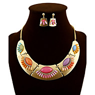 NEW Style Women's Eye-Catching Mondsichel Necklace Wedding/Party Jewelry Set (Necklace+Earrings)