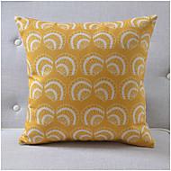 modern stil snäckskal bomull / linne dekorativa kuddöverdrag