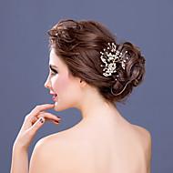 Peigne Casque Mariage/Occasion spéciale Strass/Alliage/Imitation de perle Femme Mariage/Occasion spéciale 1 Pièce