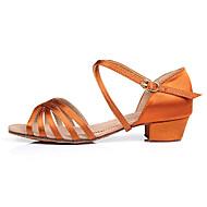 Sapatos de Dança ( Preto/Castanho/Outro ) - Crianças - Customizáveis - Latim/Salsa