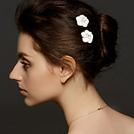 Women's Alloy Headpiece - Wedding/Special Occasion Hair Pin 2 Pieces