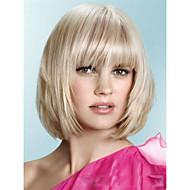 nuovi arrivi medio bob tagli di capelli corti circa 8inches bionda perfetto trasporto libero parrucca di capelli sintetici
