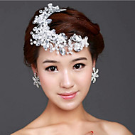 Crystal Hair Flower Bride Hair Wedding Headdress Wedding Accessories One Piece