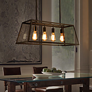 5-15W Traditional/Classic / Rustic/Lodge / Vintage Mini Style Painting Metal ChandeliersDining Room / Kitchen / Study Room/Office / Game