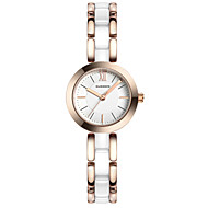 GUANQIN® High Quality Luxury Fashion Style Japanese Quartz Watch Ceramic and Steel Waterproof Watches for Women Cool Watcheses With Watch Box
