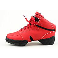 Na zakázku - Dámské / Pánské - Taneční boty - Taneční tenisky / Moderní - syntetický - Bez podpatku - Žlutá / Červená / Bílá / Zlatá