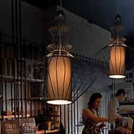 maishang® estilo simples gaiola de metal lustre