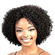 Fasjonable Kvinners Limfrie Dype Krøllete Kort Hår Parykk For Afrikansk Amerikanere