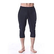 Ademend/Sneldrogend/wicking - Yoga/Pilates/Fitness Heren (Wit/Zwart)