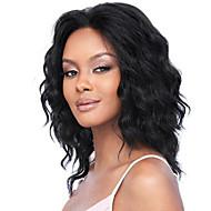 במלאי 10-30inch גל רופף עם תחרה מול פאות שיער תינוק 100% פאה ברזילאית בתולת u שיער אדם חלק לנשים