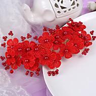 Favores para la Fiesta del Té(Rojo) -tema de la vendimia-Personalizado 10*8*3cm Cromo