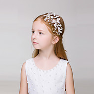 Flower Girl's Alloy Headpiece-Wedding / Casual / Outdoor Headbands 1 Piece