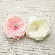 Women's Foam/Fabric Headpiece - Wedding/Special Occasion/Outdoor Flowers 1 Piece