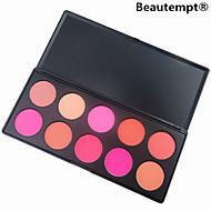 10 väriä blush poskipuna jauhe meikki kosmetiikka paletti korkealaatuinen näyttävä väri